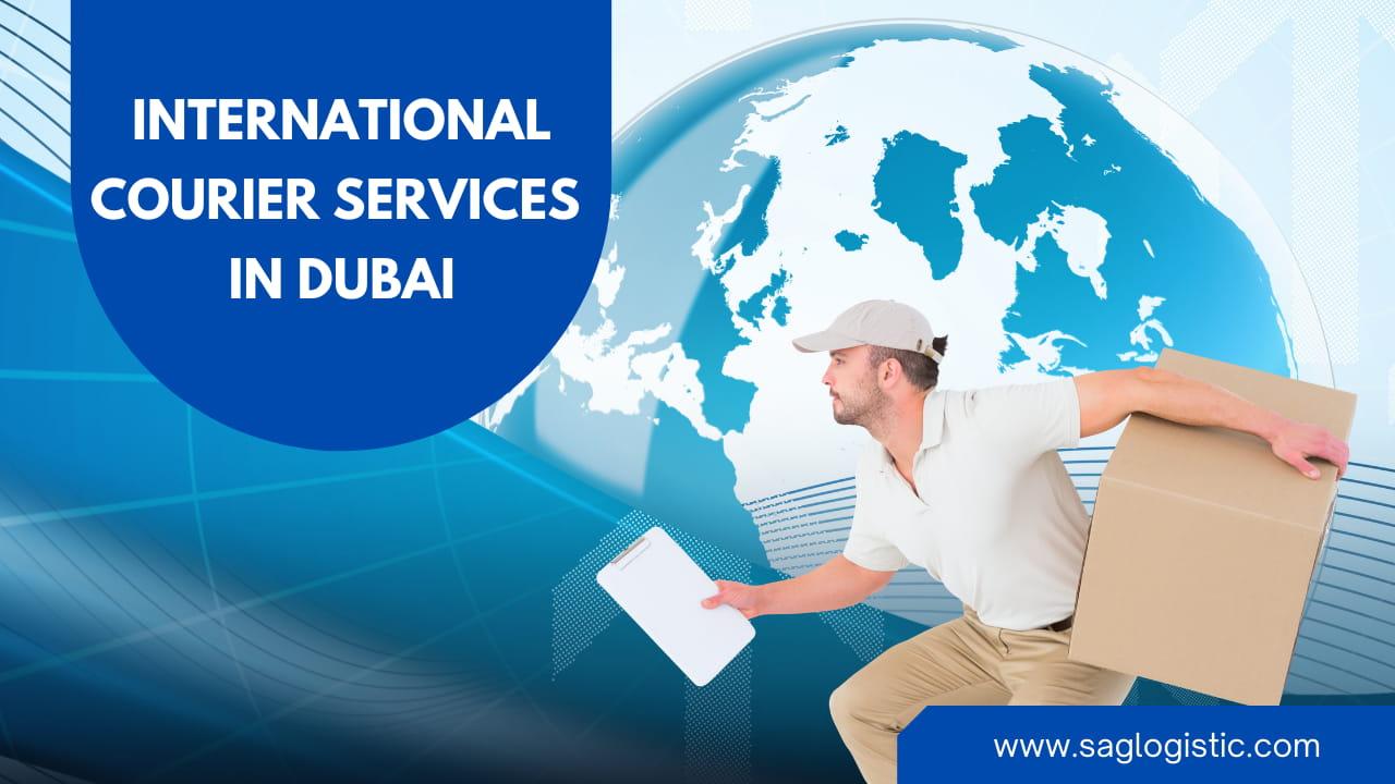 International courier services in Dubai